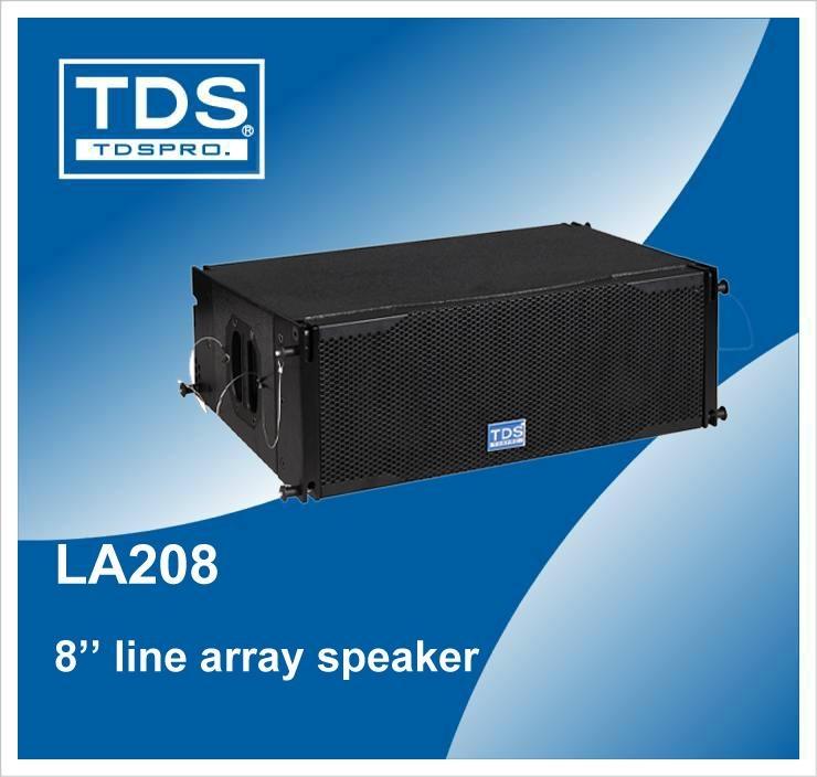 Dual 8inch Concert Speaker LA208 For Sound System Professional Line Array 3