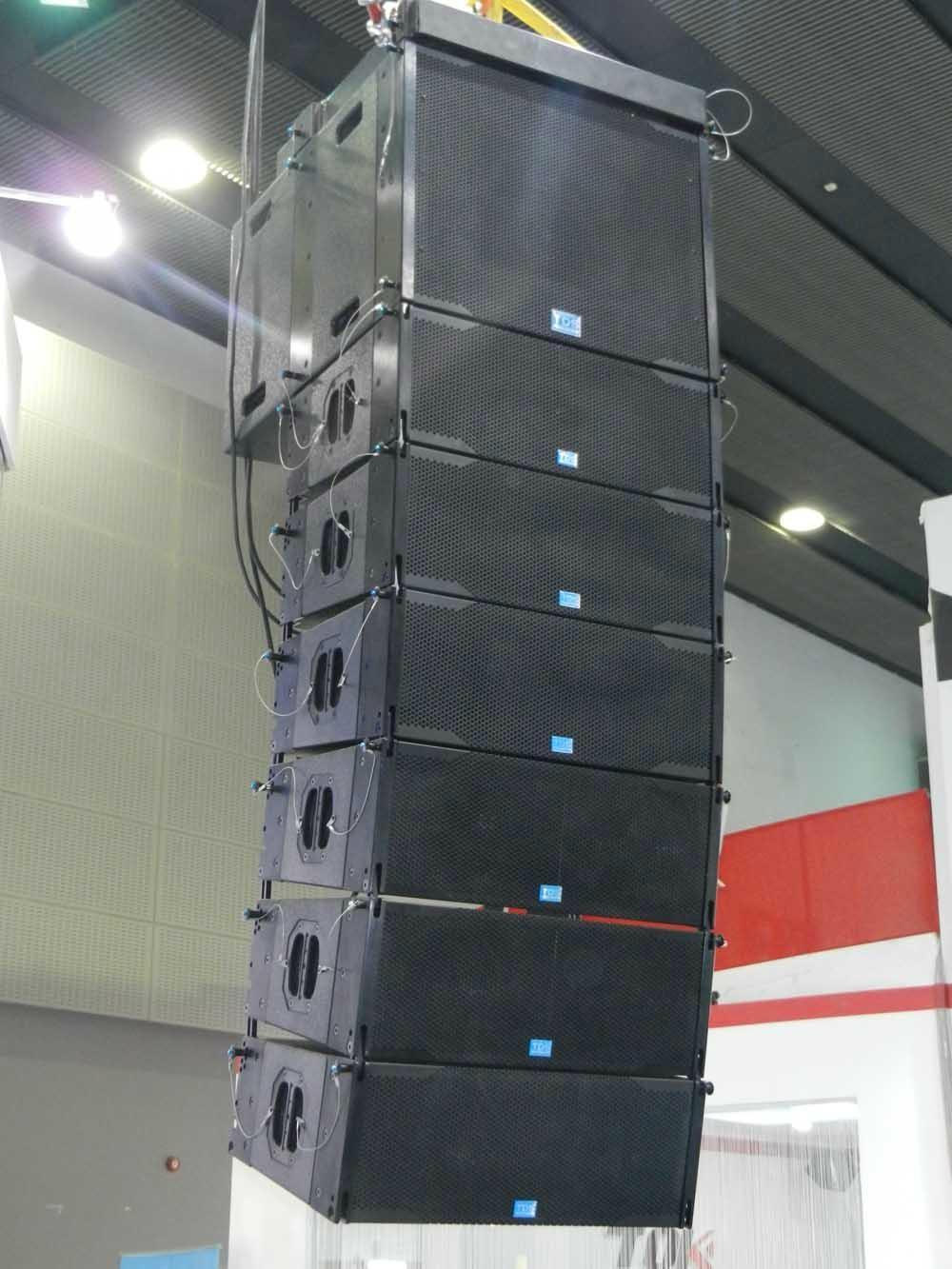 Dual 8inch Concert Speaker LA208 For Sound System Professional Line Array 4