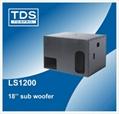 Single 18inch subwoofer speaker LS1200