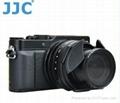 JJC High Quality Convenient camera plastic lens cap