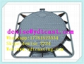 High Quality China Factory Cast Iron Manhole Cover With Frame 600*600