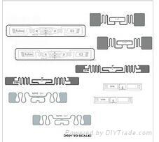 860-960MHZ RFID UHF tag for asset management