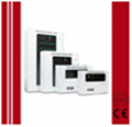 Fire alarm control panel with LPCB
