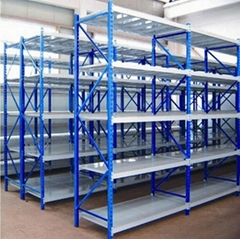 factory promotional price 4 tier middle-duty goods rack with heavy load capacity
