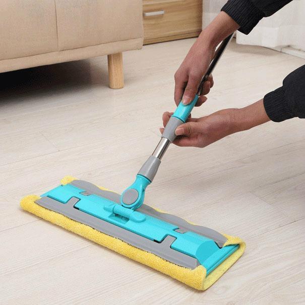 Microfiber Flat Mop floor Mop-HM0450 2