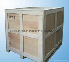供应出口免检木箱深圳龙岗出口免检木箱包装可上门测量打包装服务