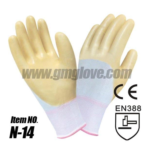 13G Polyester Nitrile Rubber Coated Glove 1