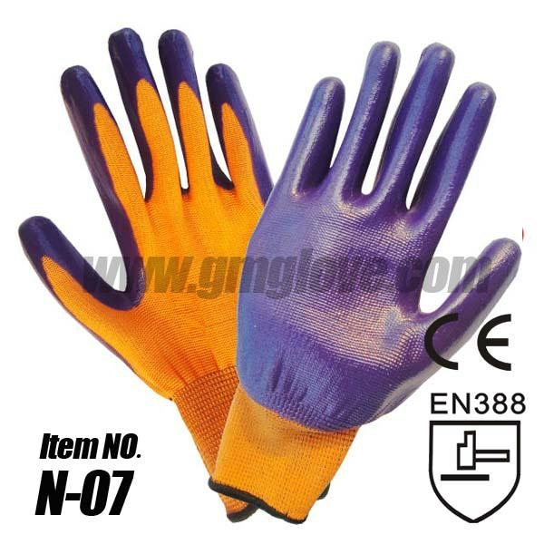 13 Gauge Nitrile Palm Dipped Gloves 1