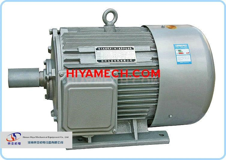 YZTD Variable Poles Multi-speed Three-phase Motor for Tower Crane 2