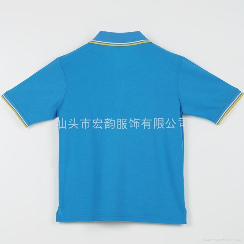 揭阳制服 工作服 汕头POLO衫定做  2