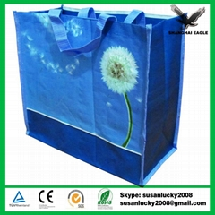 Resuable custom low price promotional pp non woven bag