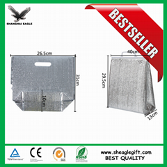Aluminium foil insulated thermo bag