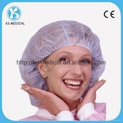 Disposable bouffant cap medical cap