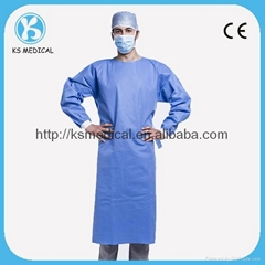 disposable surgical gown,medical isolation gown