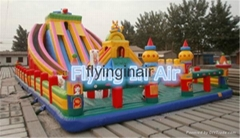 12mL6mW Large Outdoor Inflatable Slide Castle or Children