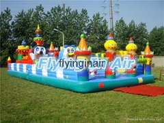 Inflatable Bouncy Castle for Children Amusement