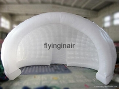 Semicircular Tent Advertising Inflatable Stand with LED Light