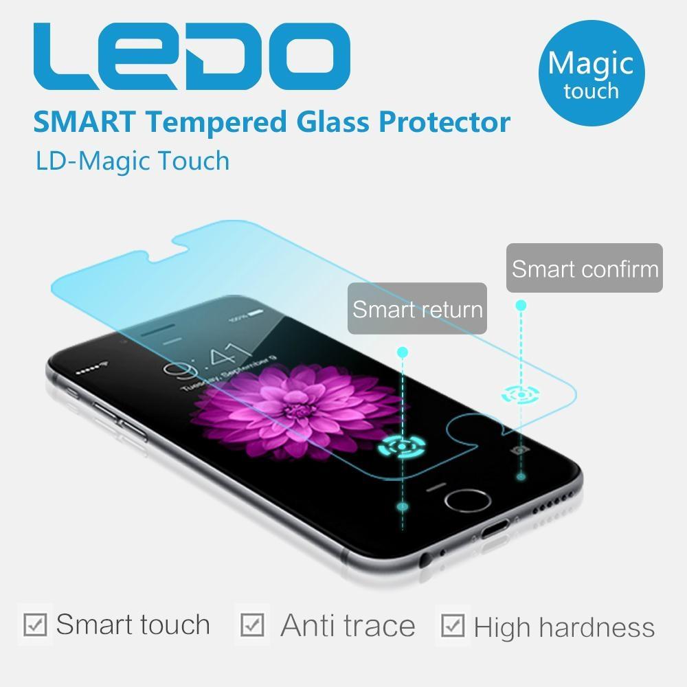 Ledo Magic finger smart tempered glass screen protector new in world 1