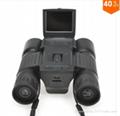 Binocular Camcorder DV with Telescope lens