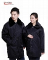 泽豪工作服供应冬季长款棉服 1