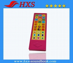 2015 hot selling plastic OEM 33 buttons educational toy