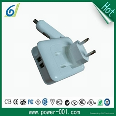 AC / DC adapter 5v 2100ma compact design switching power supply
