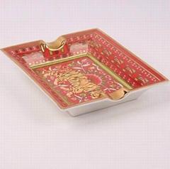 骨瓷大烟缸,欧式时尚创意陶瓷,唐山骨瓷高档礼品