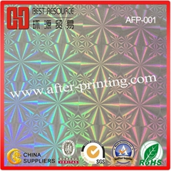 BOPP/PET Holographic Thermal Lamination