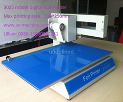 3025 model Foil Printer,Foil press machine