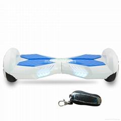 2015 popular electrical mini scooter two wheels self balance skateboard