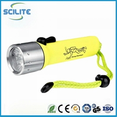 IP68 diving flashlight w