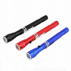 Telescopic flashlight To