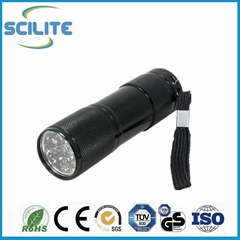 Factory Supply Emergency led torch light 9 led cheap flashlight torch
