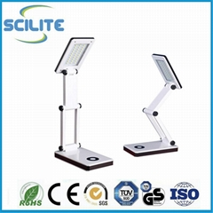 USB Rechargeable 30 led table clamp light foldable led desk lamps light