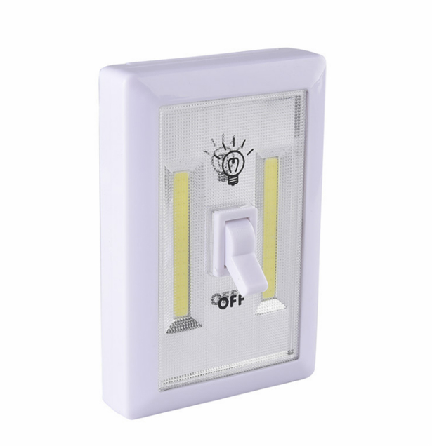 Battery powered SUper bright COB night light switch with magnetic wall lamp 2