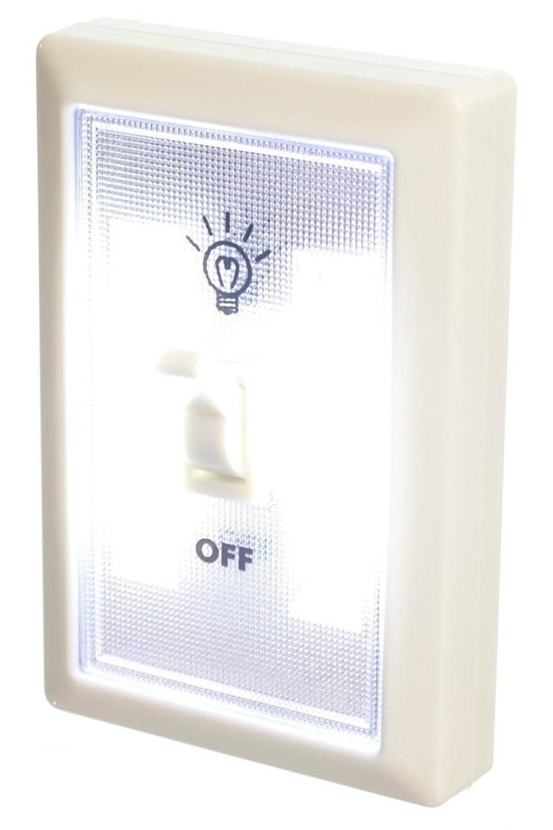 Battery powered SUper bright COB night light switch with magnetic wall lamp 4