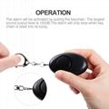 Smart Emergency Personal Alarm with flashlight for Children keychain alarm 4
