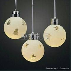LED遥控圣诞球(可定制)