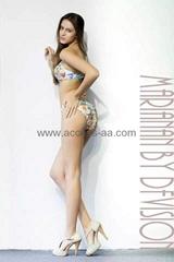 Hot Italian Brazilian Bikini Push Up Cup Fashion Print UV Protection Sexy Ladies