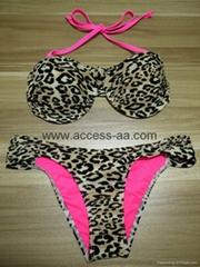 Hot Selling Ladies Bikini Leopard Print