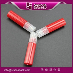 Hot sale PET product 1/3 oz roll-on perfume bottle PET bottle with drum type for