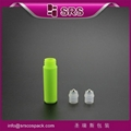srs new product mini 2ml plastic roll on bottle with steel ball for sample bottl 2