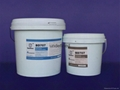 small particle anti abrasive corrosion resistant coatings