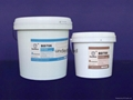 large particle anti abrasion corrosive resistant coating