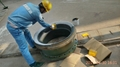 high temperature anti abrasion corrosion resistant coating