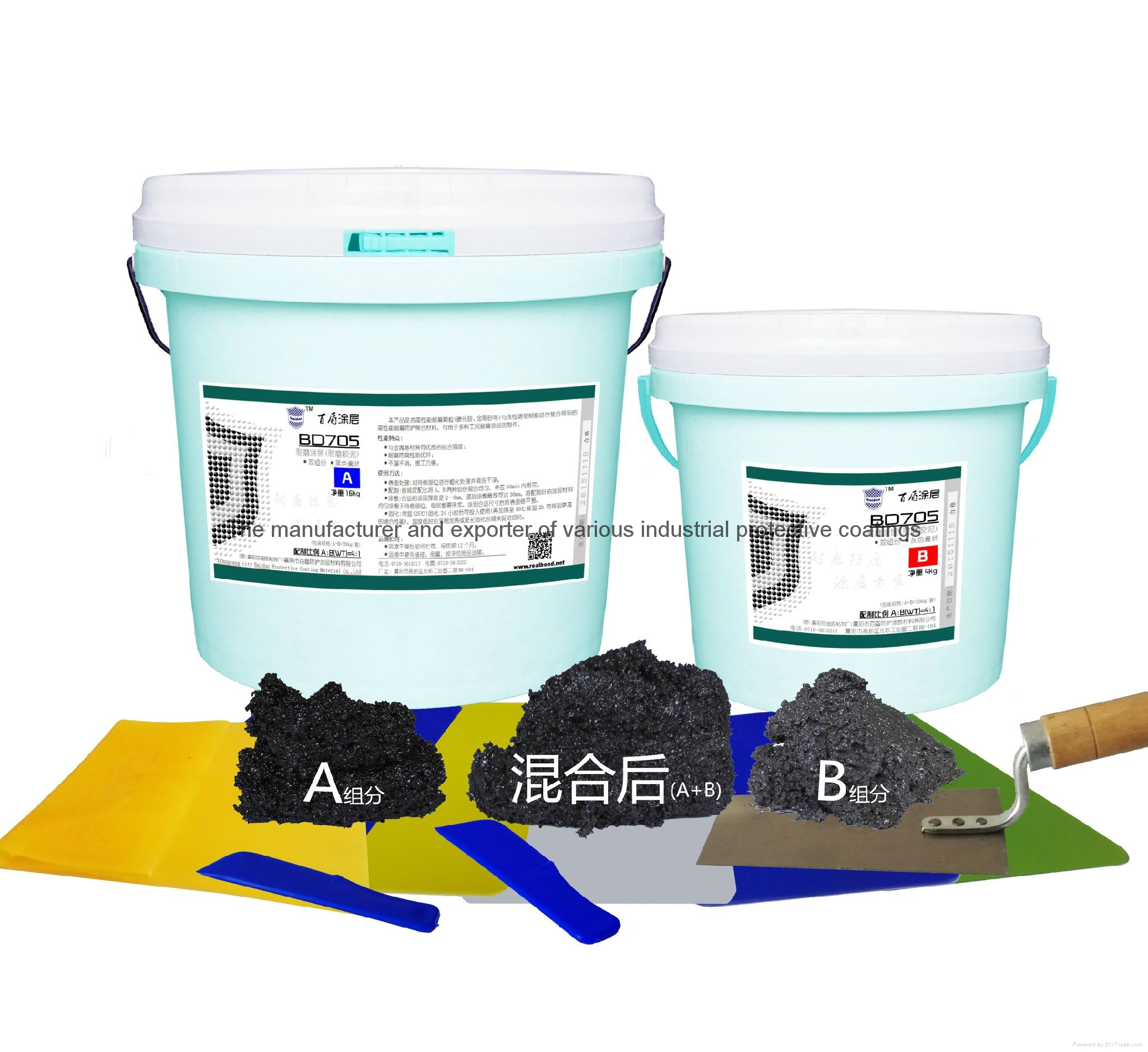 anti corrosion anti chemical wear resistant coatings