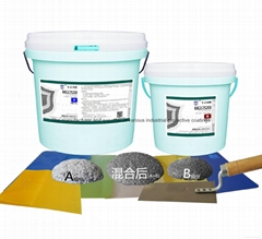 high temperature impact and wear resistant protective coating
