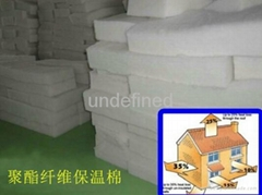 Factory supply polyester fiber roof heat preservation and heat insulation cotton