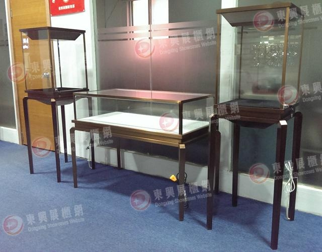 stalinite showcase with LED lights, and jewelry showcase display counter 1