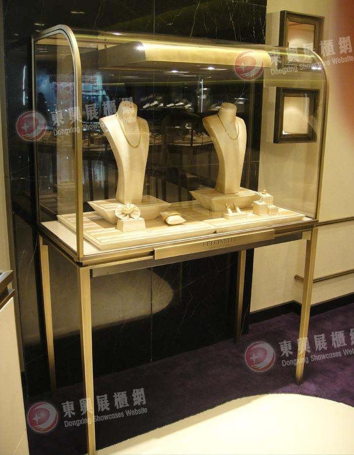 stalinite showcase with LED lights, and jewelry showcase display counter 3